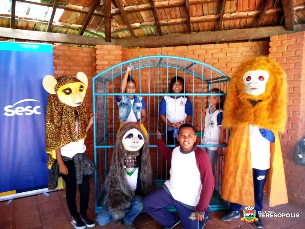 Projeto 'Escola no Parque' promove ações de Educação Ambiental