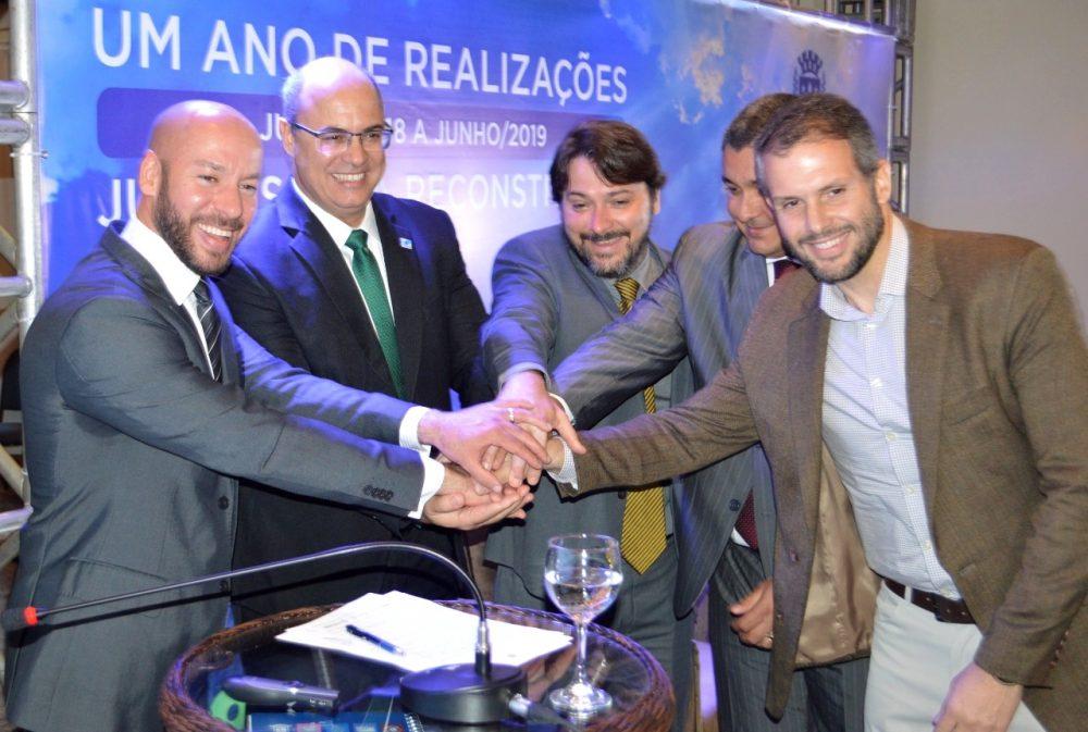 1º ano de Gestão: Prefeito Vinicius Claussen e Governador Wilson Witzel anunciam investimentos em Teresópolis