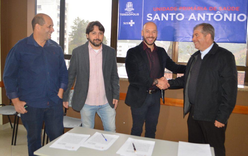 Prefeitura de Teresópolis inaugura unidade de saúde no Alto