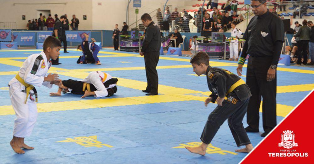 'Terê Challenge Jiu-Jítsu' reúne cerca de mil atletas no Pedrão