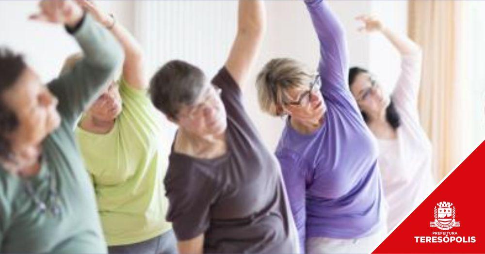 Idosos atendidos nos CRAS de São Pedro e do Alto terão aulas de ginástica