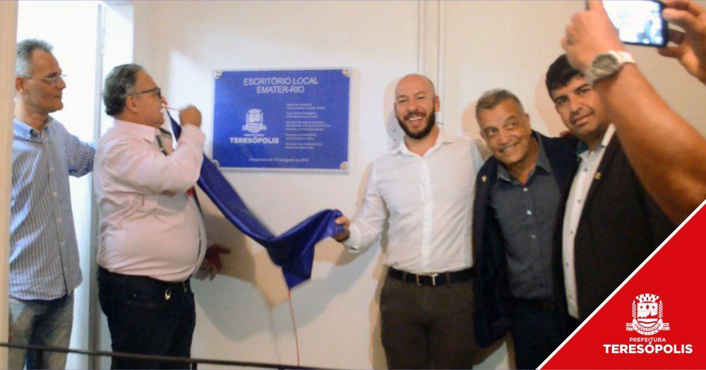 Novo escritório local da Emater já funciona no Centro Administrativo Municipal, na Várzea