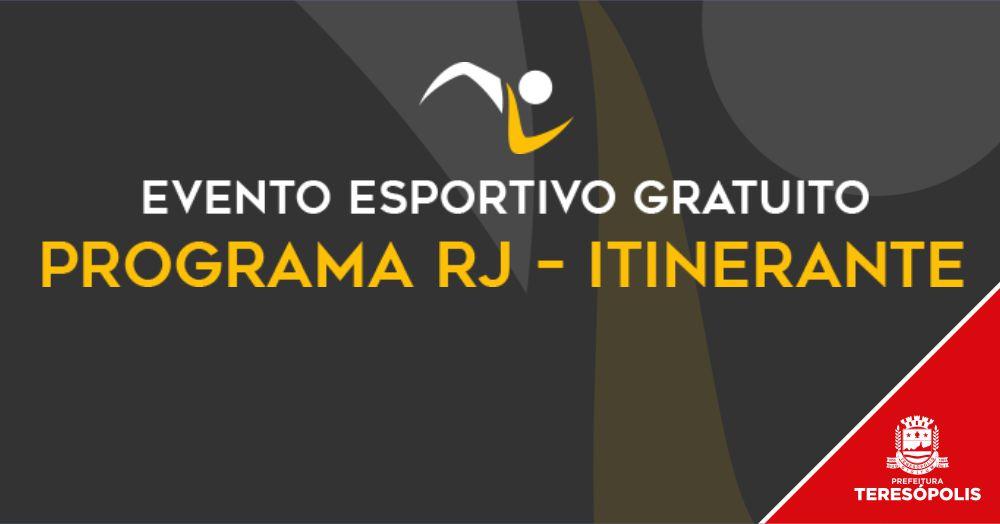 Praça Olímpica terá evento esportivo do 'Programa RJ – Itinerante' neste sábado, 10