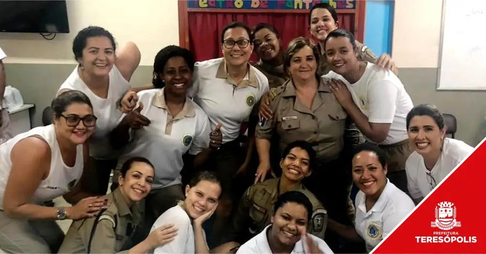 Ronda Escolar de Teresópolis faz curso para aperfeiçoar trabalho nas escolas