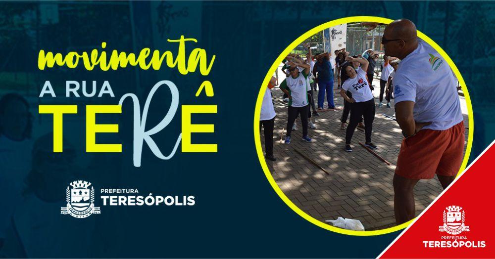 Atividades esportivas do 'Movimenta a Rua Terê' acontecem no Alto neste domingo, 15