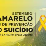 Caminhada e palestra no dia 30 encerram campanha 'Setembro Amarelo' em Teresópolis
