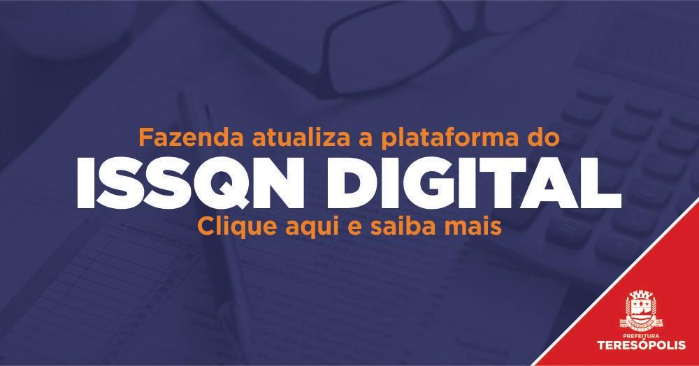 Fazenda atualiza a plataforma do ISSQN digital