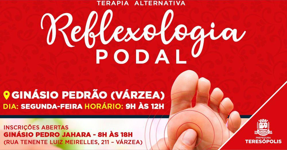 Reflexologia Podal: Nova terapia alternativa será oferecida gratuitamente no Pedrão