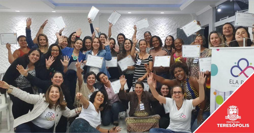 'Ela Pode': 2ª edição de capacitação empreendedora para mulheres é promovida em Teresópolis