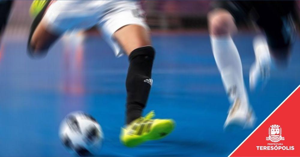 Sub-11 Teresópolis/PMT está nas quartas de final do Campeonato Estadual de Futsal Série Prata