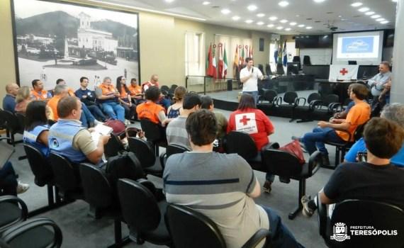 'Proteger Teresópolis' é apresentado em evento de Defesa Civil em Nova Friburgo