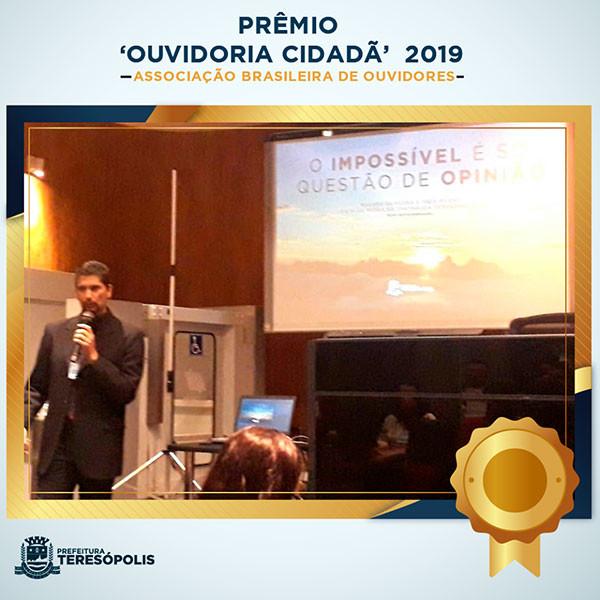Prêmio 'Ouvidoria Cidadã'