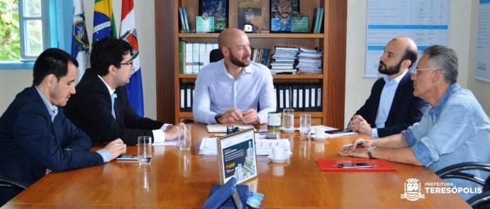Teresópolis recebe visita do novo Secretário de Estado de Agricultura