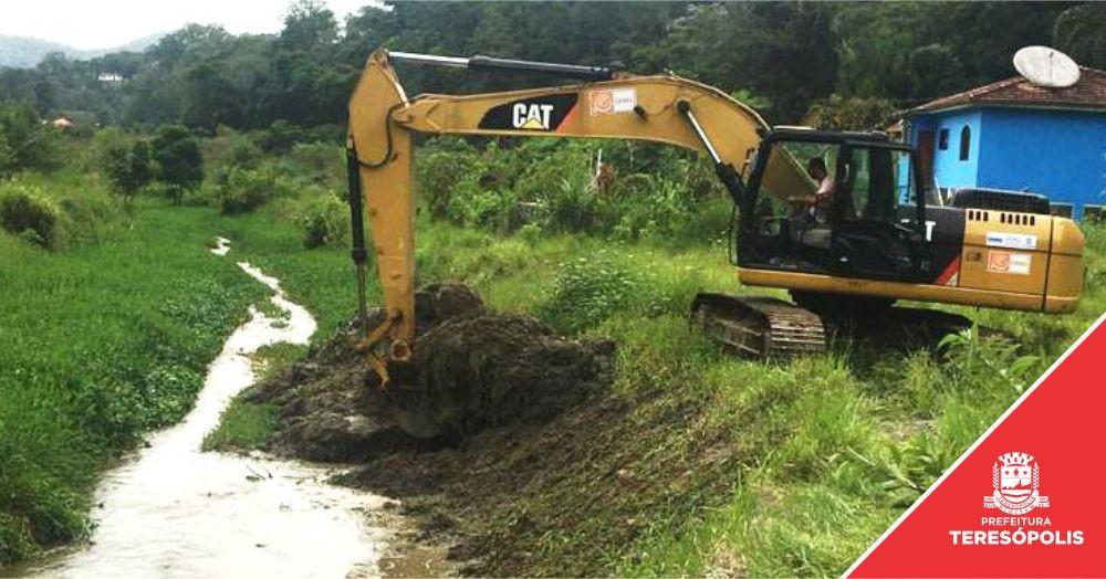 'Limpa Rio' começa pelo Rio Príncipe, na Posse