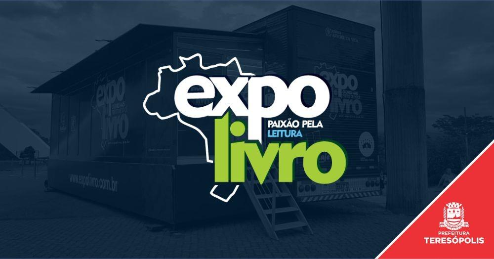 EXPOLIVRO – Projeto itinerante de incentivo à leitura chega a Teresópolis com apoio da Prefeitura