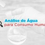 Resultado da análise da água das principais fontes de Teresópolis
