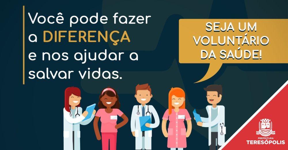 Estudantes e profissionais da saúde podem ser voluntários no combate ao coronavírus em Teresópolis