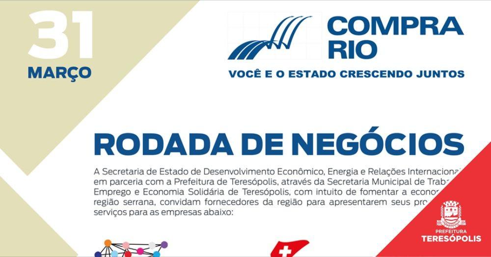 Programa estadual de incentivo aos negócios 'COMPRA RIO' tem inscrições abertas na próxima segunda, 16