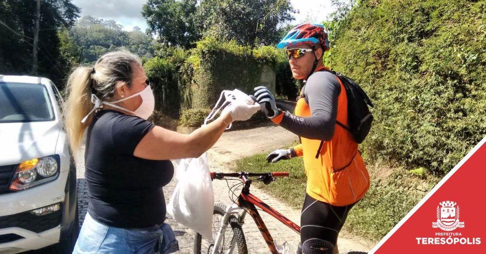 COVID-19: Prefeitura de Teresópolis recebe doação e distribui 20 mil máscaras à população