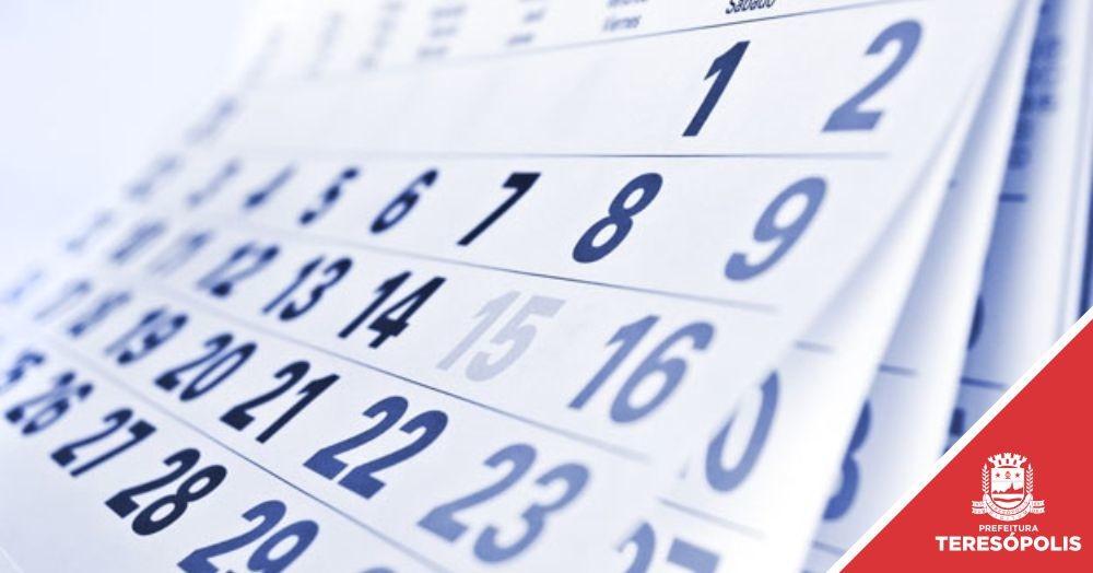 Prefeitura funciona segunda (20) e quarta (22) e fecha nos feriados de Tiradentes (21) e São Jorge (23), com ponto facultativo na sexta-feira (24)