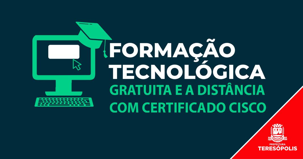 Secretaria de Ciência e Tecnologia abre inscrições para cursos gratuitos de formação em tecnologia a distância