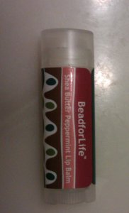 BeadforLife Shea Butter Peppermint Lip Balm