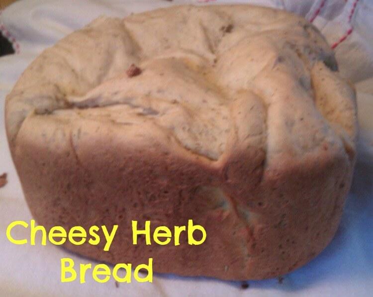 cheesy herb bread