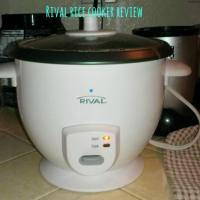 Rival Rice Cooker Review and Rice Pudding Recipe