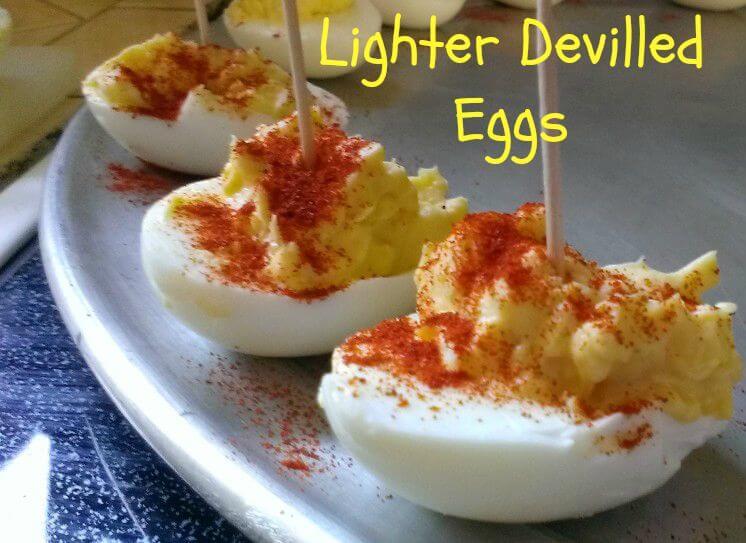 lighter devilled eggs
