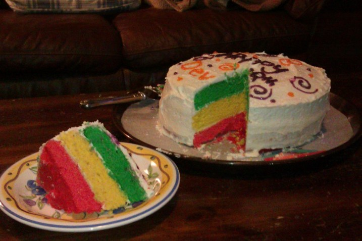 Jamaican Birthday Cake