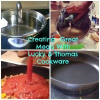 Creating Great Meals with Lucky and Thomas Cookware #LuckyMakeMemories #Sponsored