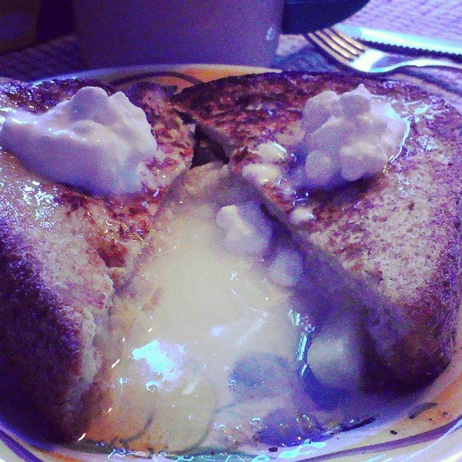 pineapple coconut cream stuffed french toast recipe