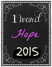 one word hope 2015