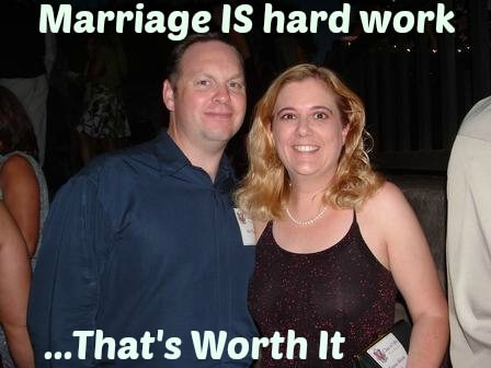 marriage is hard work