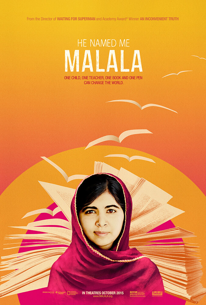 He Named Me Malala movie poster