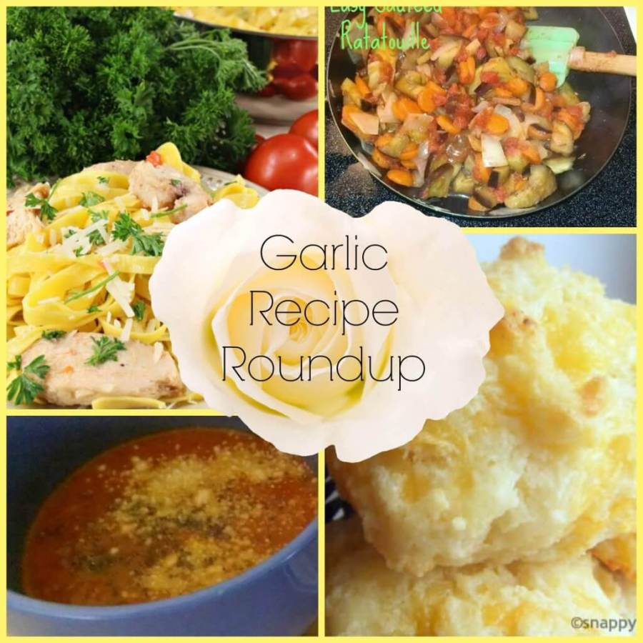 garlic recipe roundup