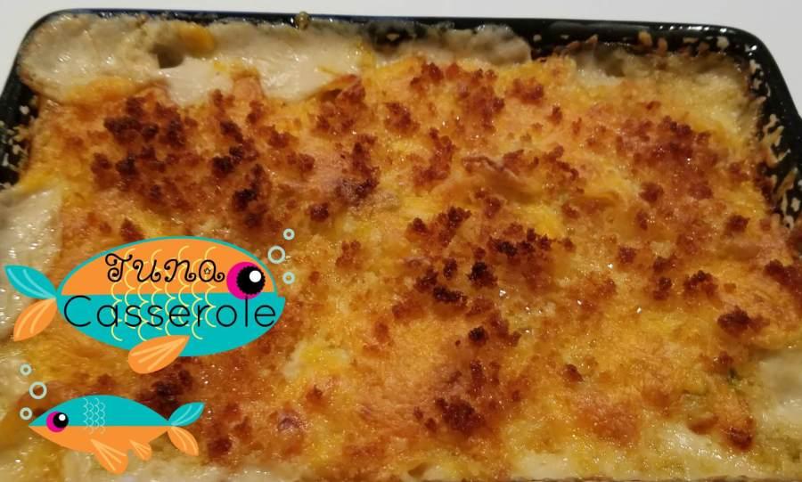 crunchy, creamy tuna casserole