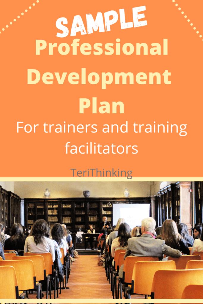 Sample professional development plan trainer