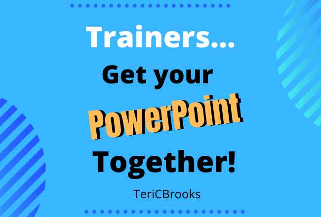 What makes a good trainer presentation