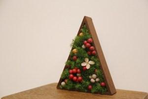ボックスフラワー(クリスマス飾り)作りワークショップ