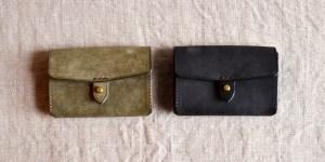 手のひらサイズのコンパクトなお財布