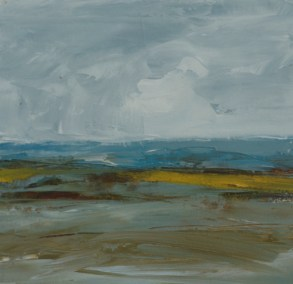 TM8715 Low Tide Study #1 6x6 oil on paper