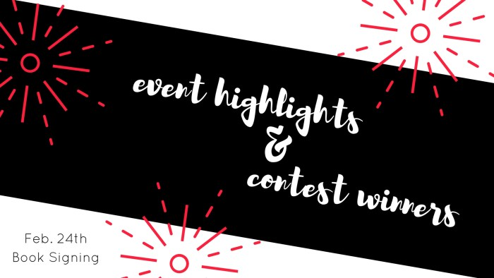 Event Highlights and Contest Winners