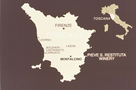 PIEVE LOCATION MAP