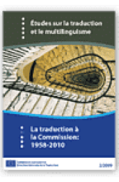 La traduction à la Commission: 1958-2010