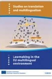 Study on lawmaking in the EU multilingual environment