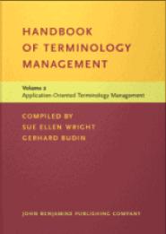 Handbook of Terminology Management