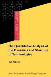 quantitative analysis of the dynamics and structure of terminologies