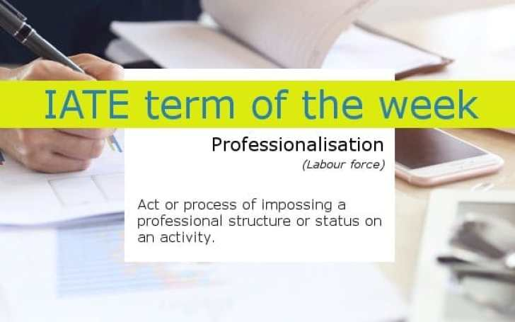 gimp_iate_term_of_the_week_professionalisation