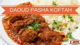 I·ATE Food Term of the Week: Daoud Pasha Koftah